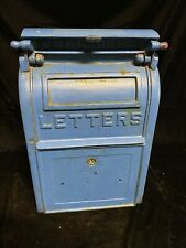 Antique cast iron mailbox Us Postal carlisle foundry Carlisle Pa Original 1931