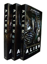 Alien Trilogy 3 Books River of Pain Out of Shadows Science Fiction Horror  New