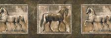 """FRAMED HORSES-BORDER-9""""HIGH-$9.00 PER ROLL-FREE S&H"""