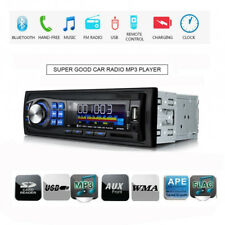 Car Stereo Audio Bluetooth 1 DIN In-Dash FM Aux Input SD USB MP3 Radio Receiver