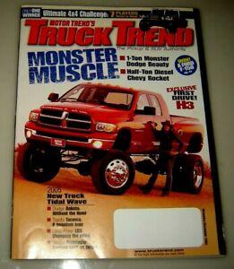 Truck Trend Magazine November/December 2004
