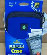 Palm Day-Timer Reversible Blue Handheld Palm Case NEW Reduced PRICE