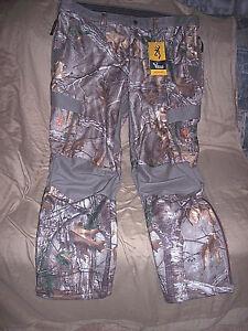 3X Camo Pants Browning Hunting Pants Realtree Camo Advanced Scent Control $180