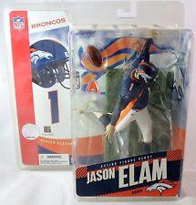 McFarlane NFL Jason Elam Blue Jersey Figure