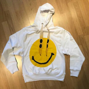 KAPITAL Rain Smile Hoodie Smiley Natural new 1