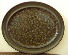 "Franciscan China Madeira 13"" Oval Serving Platter Vintage CA Pottery"