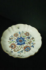 Carlton Ware vintage floral with gold rim dish / shallow bowl