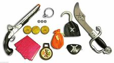 Super Pirates Weapons Dress Accessories Toy Sword Gun Eye Patch Scarf Earring