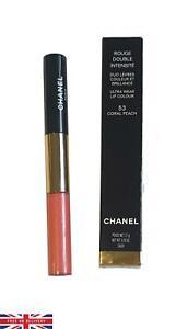 Chanel Rouge Double Intensite Ultra Wear Lip Colour 53 Coral Peach Lipstick