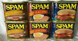 Spam Can Choose any Flavor Lot of 2 -12 oz Buy More & Save $ FREE SHIP