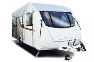 Maypole Caravan Waterproof UV Top Cover - Fits Up To 4.1M (14') - Grey - MP9261