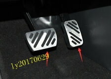 2pcs Stainless Steel Accelerator Pedal Brake Pedal Trim For Acura RDX 2019 2020