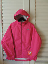 NORTH FACE PARE PASSION PINK WATER PROOF HOODED JACKET,  WOMENS SMALL ~NWT