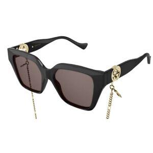 Occhiali da Sole Gucci GG1023S 005 54-17-140 Donna black lenti brown