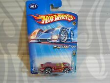 2005 HOT WHEELS ''FIRST EDITIONS'' drop tops  #022 = `57 NOMAD = BURGANDY , 0715