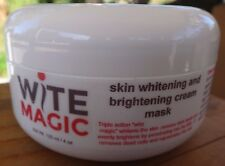 Wite magic natural skin whitening lightening cream mask bright and balanced