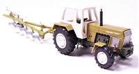 H0 BUSCH Traktor Fortschritt ZT 303-D grün + Pflug Fortschritt B 200 42849 42850