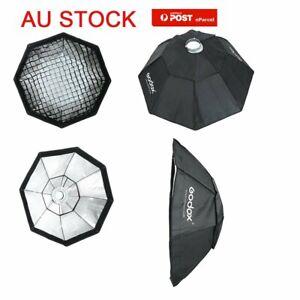 AU Godox Octagon 95cm Grid Honeycomb Studio Flash Softbox + Bowens Mount Ring