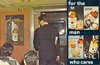 NY, NY - UNIQUE TRAIN ADVERTISING - Carstairs WHISKEY - 6x9 postcard