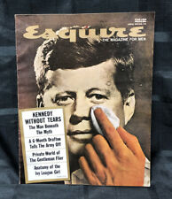VINTAGE ESQUIRE MAGAZINE JUNE 1964, KENNEDY WITHOUT TEARS