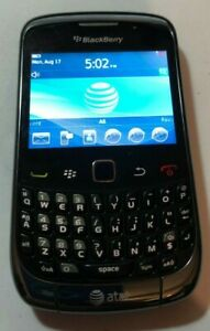 READ FIRST @BlackBerry Bold 9300 1GB Black (AT&T) Smartphone Excellent Used