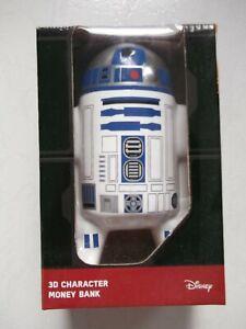Tirelire neuve Figurine Star Wars R2-D2 3D Character Money Bank (Disney)
