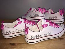 Chief Damigella Fiore Ragazza Damigella d'onore personalizzato Bling Trainer Shoe