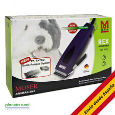 Cortapelos para mascotas Moser 12300 Rex negro