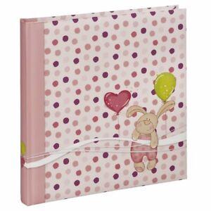 Babyalbum Fotoalbum Fotobuch für Mädchen von Hama in Rosa Pink > Kleiner Hase <
