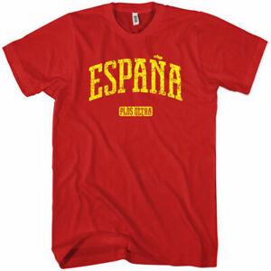 ESPANA T-shirt - Spain Spanish La Furia Roja Barcelona Madrid - NEW XS-4XL