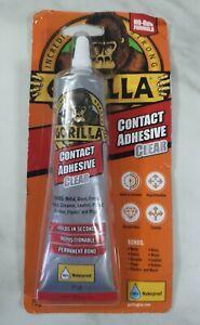 Gorilla Glue Contact Adhesive Clear - 75g Bond Wood Glass Metal Plastic