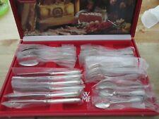 WMF Augsburger Faden Patent 90 Silber 6 Personen 30 Teile Note 1 Besteck NEU