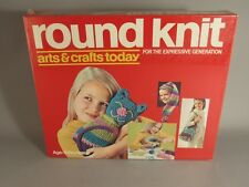 Vintage Hasbro Arts & Crafts Today Round Knit Kit NOS 1971