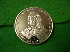 Gibraltar 1993 George II Proof like Crown BU