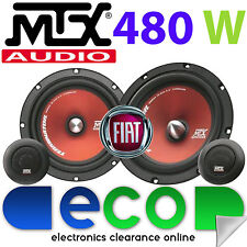 """Fiat Punto 1993-2005 MTX 6.5"""" 480 Watts Component Kit Front Door Car Speakers"""