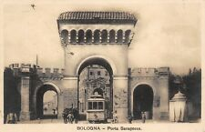 7565) BOLOGNA, PORTA SARAGOZZA, ANIMATA, TRAM N° 25.