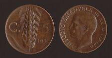 5 CENTESIMI 1930 SPIGA - VITTORIO EMANUELE III