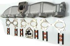 Collettore scarico bmw 325d e 330d e92 e93 ghisa nuovo completo di guarnizioni