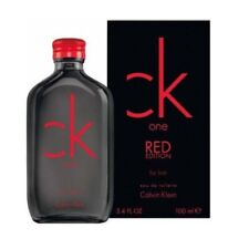 Ck One Red Edition by Calvin Klein 3.4 oz EDT Cologne for Men New In Box