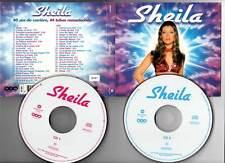 """SHEILA """"Best Of"""" (2 CD Digipack) 40 ans de carrière, 44 tubes remasterisés 2001"""