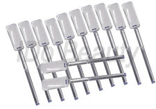 12 nail pops sticks tool for display of nail polish colour nail art clear nails