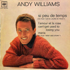 ANDY WILLIAMS SI PEU DE TEMPS FRENCH ORIG EP
