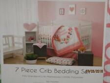 Manhattan Kids Floral Sweet Dreams 7-Pc Crib Bedding Set *New*