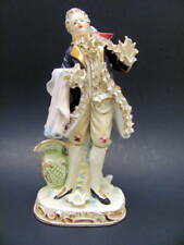 Excellent Vintage Hand Painted Male Dandy Figurine