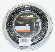 12m HEAD RIP CONTROL 1,30mm schwarz//weiß Premium Tennissaite 0,83€//lfd. m