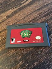 World Championship Poker Nintendo Gameboy Advance GBA Cart