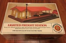 Bachmann Lighted Freight Station HO Item No. 46-1216 NIB!