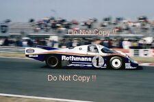 Jacky Ickx & Derek Bell Porsche 956 Le Mans 1983 Photograph 1