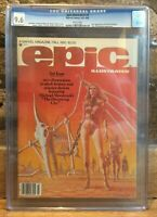Epic Illustrated #3 1st Appearance of Dreadstar 1980 CGC 9.6 1290325001