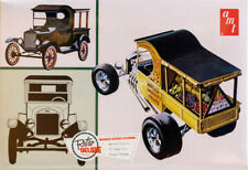 1925 Ford Model T Fruit Wagon Lieferwagen 1:25 AMT Model Kit Bausatz AMT869